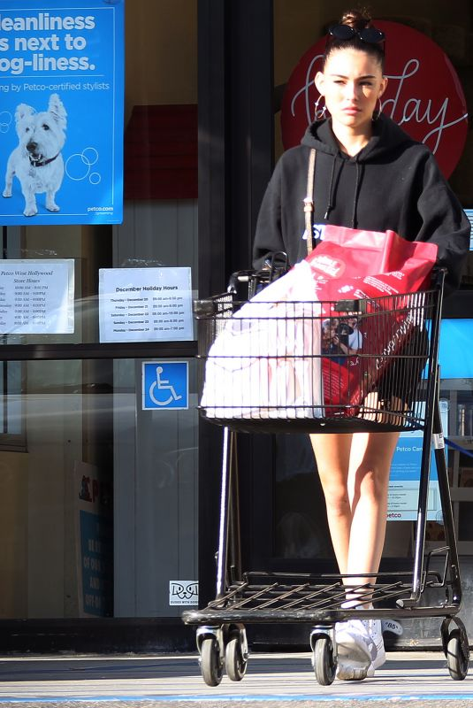Madison Beer Outside petco in LA