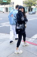 Madison Beer with Zack Bia shopping at XIV Karats on Christmas Eve in Beverly Hills