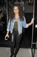 Madison Pettis At Catch Restaurant in West Hollywood