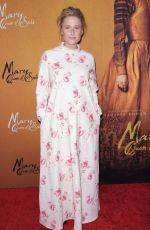 Mamie Gummer At Mary Queen of Scots NYC Premiere