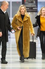 Margot Robbie Arriving at the JFK airport in New York City