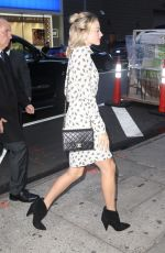 Margot Robbie Leaving her hotel to go to the