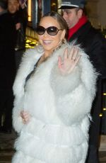 Mariah Carey Heads to her concert in Paris