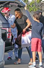Mariska Hargitay Out in West Hollywood