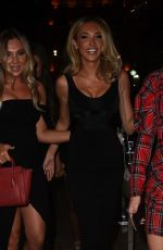 Megan McKenna At Christmas party in London