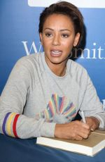 Melanie Brown Signing her biography Brutally Honest at WHSmith Milton Keynes, London