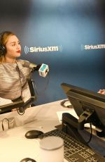 Miley Cyrus At The SiriusXM Studios in New York City