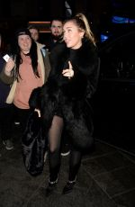 Miley Cyrus Greets fans at Capital Radio in London
