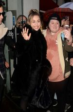 Miley Cyrus Leaving the Capital Radio in London