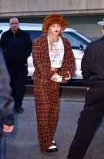 Miley Cyrus On the streets of Weehawken in New Jersey