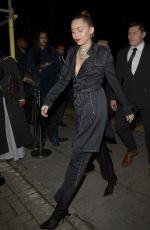 Miley Cyrus Outside the Burberry x Vivienne Westwood Collection Launch Party in London