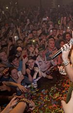 Miley Cyrus Performs live at G-A-Y night club in London
