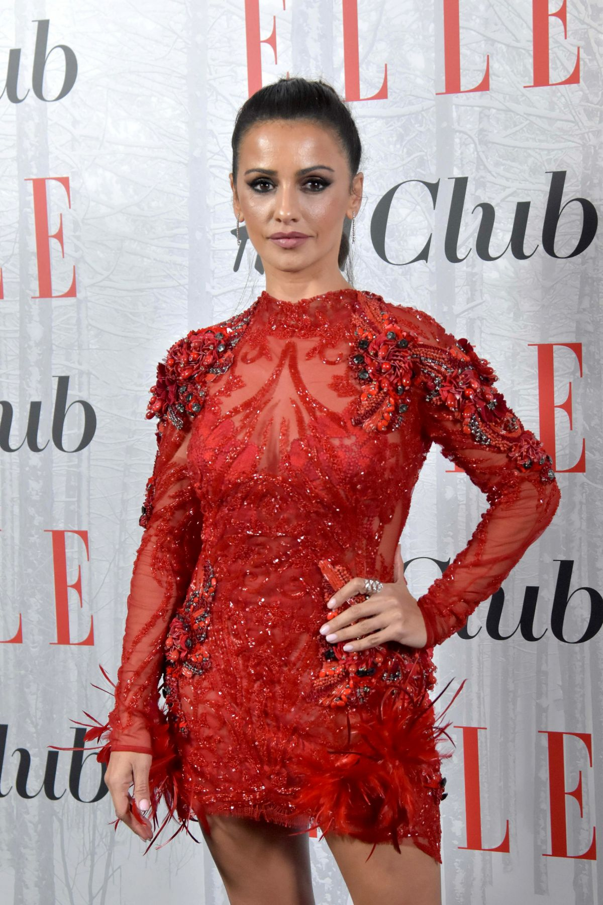 Monica Cruz At Elle Christmas Party – Madrid, Spain