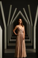 Natalie Portman At Portrait Session At NGV Gala 2018