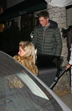 Nicky Hilton Leaving madeo restaurant in Beverly Hills