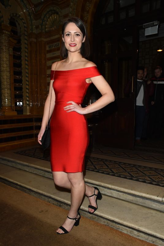 Nicola Thorp At The Coronation Street Christmas Party at The Principle Hotel in Manchester