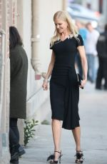 Nicole Kidman Goes to Jimmy Kimmel Show in Los Angeles