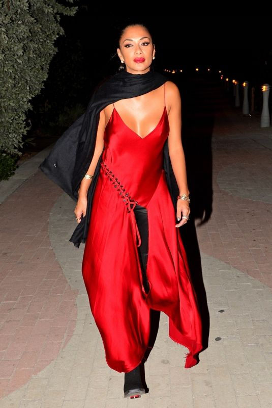 Nicole Scherzinger At the Faena Hotel in Miami