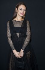 Olga Kurylenko At Annual Charity Dinner hosted by the AEM Association Children of the World for Rwanda at Pavillon Ledoyen in Paris