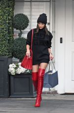 Olivia Culpo Outside Epione in Beverly Hills