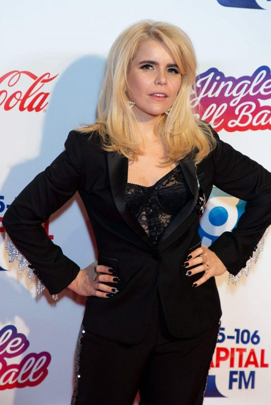 Paloma Faith Attends the Capital FM Jingle Bell Ball in London