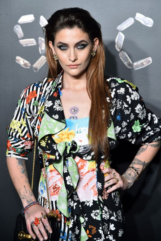 Paris Jackson At Versace Pre-Fall 2019 Collection show in NYC
