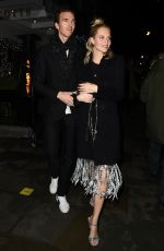 Poppy Delevingne At the Chiltern Firehouse in London