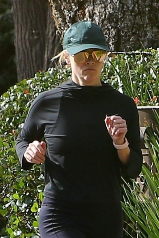 Reese Witherspoon On a morning jog in Santa Monica