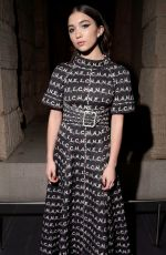 Rowan Blanchard At Chanel Metiers d