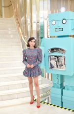 Rowan Blanchard At Tiffany and Co. celebrate the Holidays with a Girls Night in Los Angeles