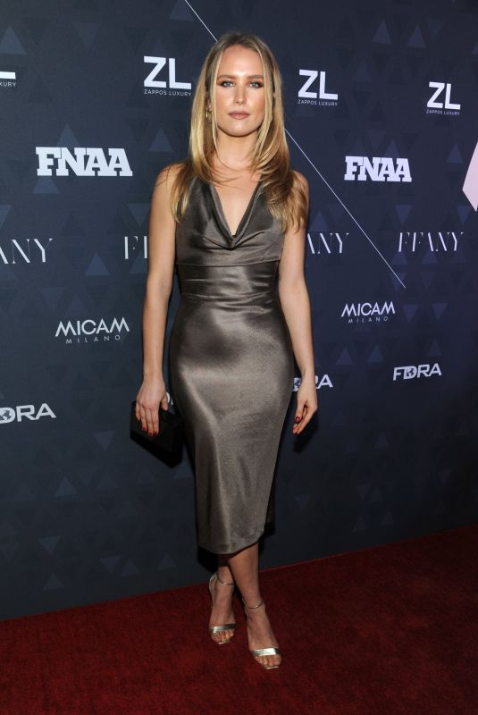 Sailor Brinkley-Cook At Footwear News Achievement Awards in New York City