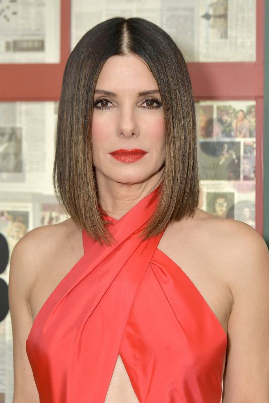 "Sandra Bullock At ""bird box"" New York Screening"