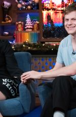 Saoirse Ronan & Lucas Hedges At Watch What Happens Live With Andy Cohen in New York City