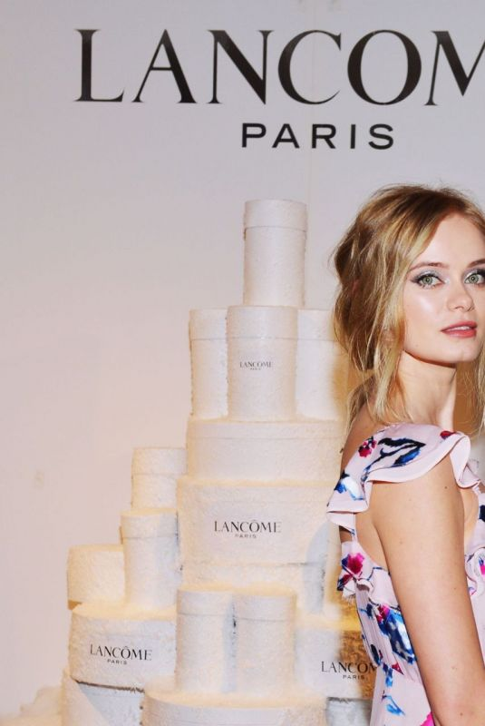 Sara Paxton At Lancome x Vogue Holiday Event at Delilah in West Hollywood