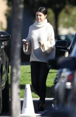 Selena Gomez Attends sunday church services ahead of the New Year