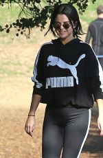 Selena Gomez Out for a hike in Los Angeles