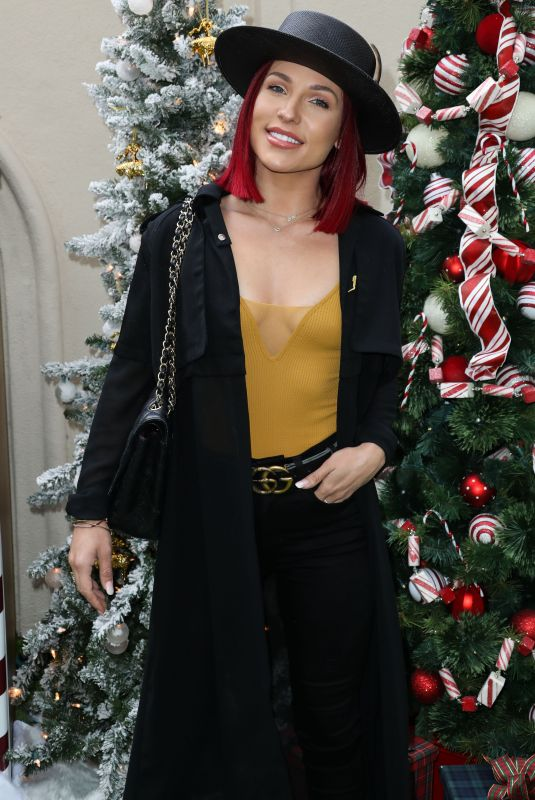 Sharna Burgess At Brooks Brothers Annual Holiday Celebration