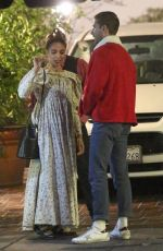 Shia LaBeouf and FKA twigs out for a Christmas Eve dinner
