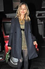 Sienna Miller At Chiltern Firehouse in London