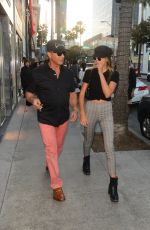Sistine Rose Stallone Shopping at Chanel in Beverly Hill