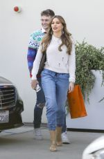 Sofia Vergara Steps out for some shopping at the Hermes store in Beverly Hills