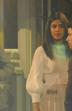 Sophie Turner and Priyanka Chopra Out for lunch at sexy fish restaurant, London