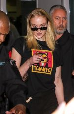 Sophie Turner At the airport in Sao Paulo, Brazil