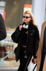 Stella Maxwell Arrives at Paris-Charles-de-Gaulle airport