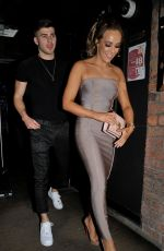 Stephanie Davis At The Hollyoaks Christmas Party at Revolution Bar in Liverpool