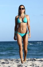 Sylvie Meis On the beach in Miami