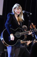 Taylor Swift At Ally Coalition Talent Show benefit concert in NYC