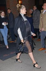 """Teresa Palmer Exits the Bowery Hotel on her way to the Chanel """"Metiers D"""