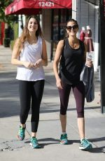 Teri Hatcher and her daughter after a weekend workout in LA