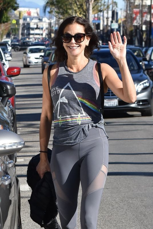 Teri Hatcher Outside a gym in Studio City
